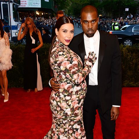 Who: Kim Kardashian and Kanye West