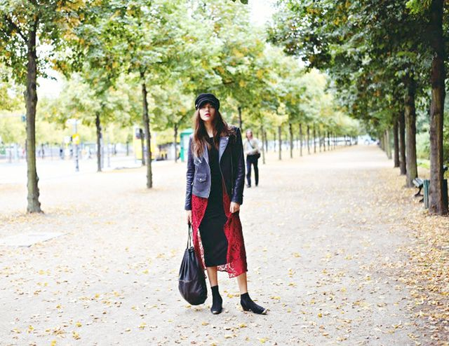 The It-Girl Secret to Looking Taller & Leaner