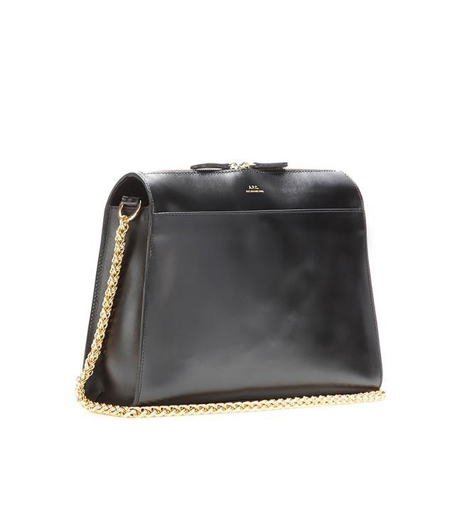 celine black velvet handbag