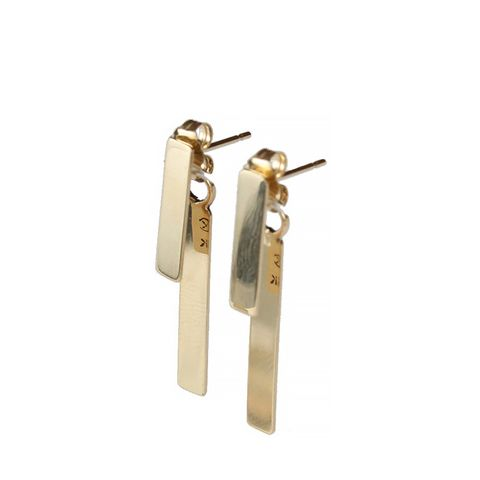 Studio Bar & Pendulum Earrings