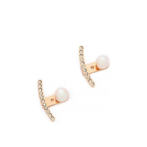 Cultured Freshwater Pearl Ear Jacket