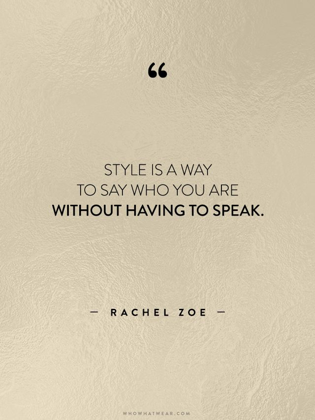 35 Life-Changing Quotes from Fashion's Greatest Luminaries ...