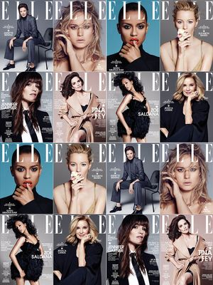 Elle Celebrates Their 2014 Women in Hollywood Issue With 8 Covers