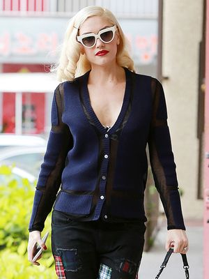 Gwen Stefani Brings Back the Patchwork Trend