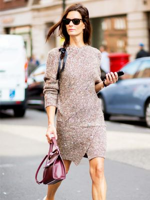 Tip of the Day: A Quick and Easy Sweater Dress Outfit Idea