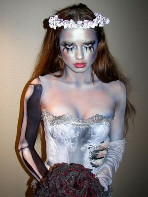 9 Celebs Who Go All Out in the Halloween Makeup Department