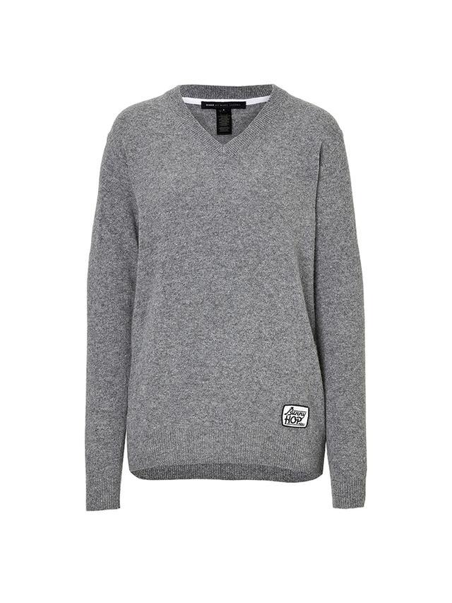 Alpaca Wool Sweater Shedding Gray Cardigan Sweater