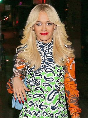 Rita Ora is a '70s Babe in Miu Miu