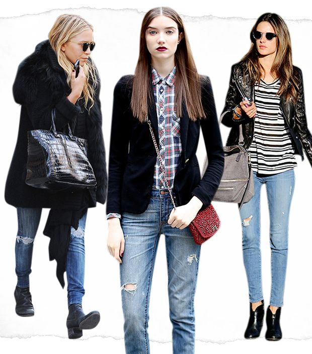 Shop The Best Distressed Denim For Spring