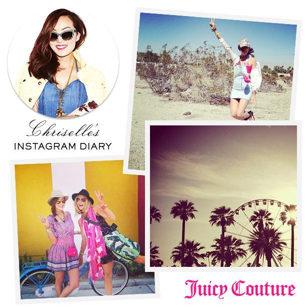 See Chriselle's Music Festival Instagram Diary