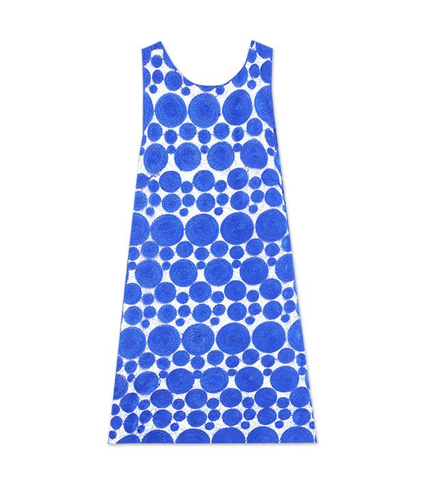 Alice + Olivia Dot Sleeveless Shift Dress ($396)