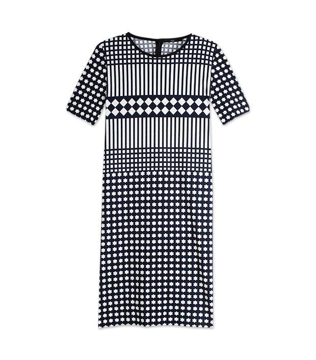 Tibi Alina Geo Jersey Dress ($325)