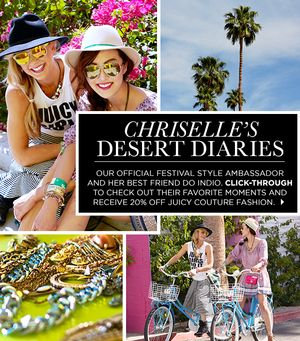 Check Out Chriselle's Favorite Festival Moments