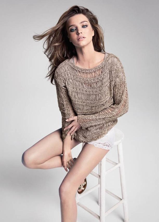 Miranda Kerr | Mango Summer 2013