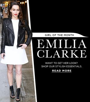 Emilia Clarke Inspires Our Latest Fashion Picks