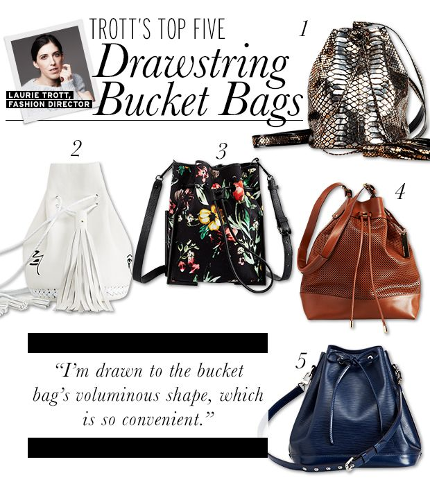 Five Bucket Bags For Spring