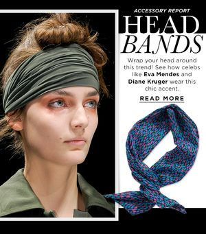 Make A Boho-Inspired Statement In A Head Scarf