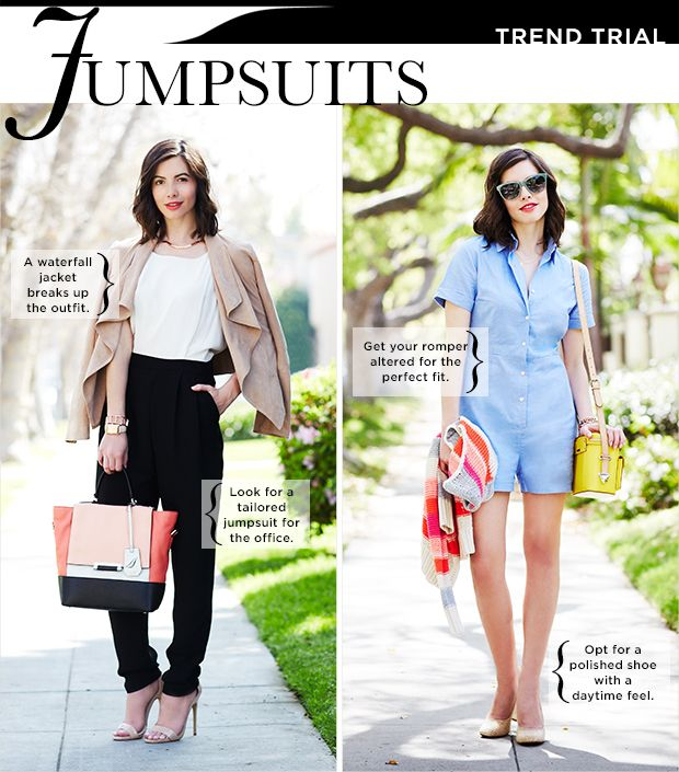 How To Style A Jumpsuit For Work And Play