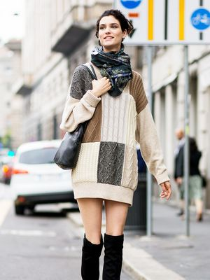 Tip of the Day: How to Dress up your Sweater Dress