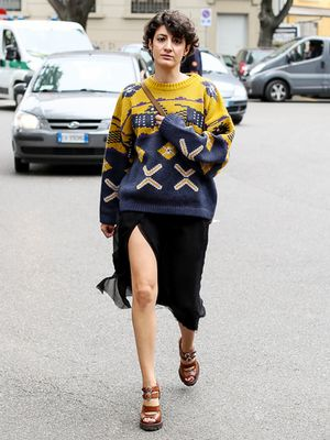 Tip of the Day: Reinvent an Old Printed Sweater
