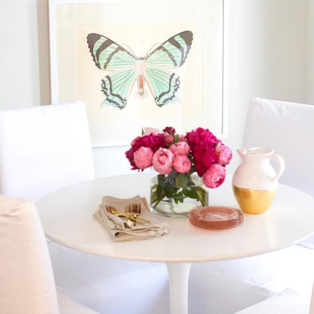 Tour the Bright White Kitchen of Style Me Pretty's Abby Larson