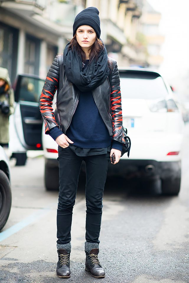 11 awesome outfits to wear with lace up boots whowhatwear