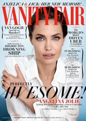 Angelina Jolie's Beautiful Vanity Fair Cover