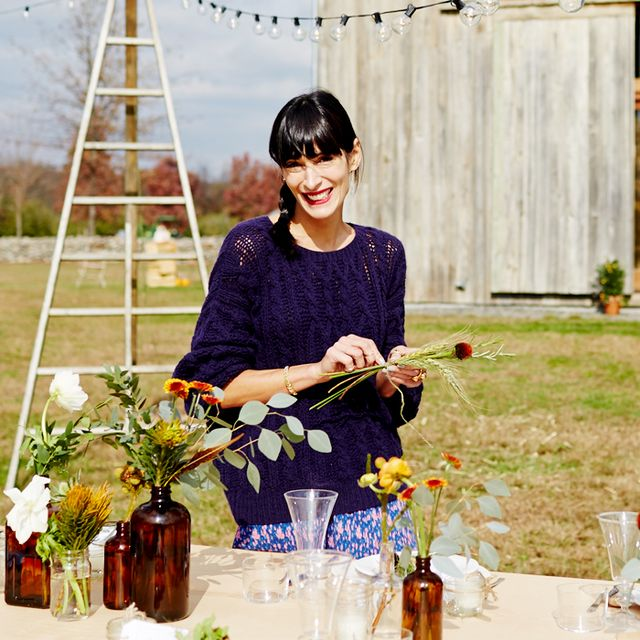 Get Inspired by Athena Calderone's Fanciful Fall Farm Dinner