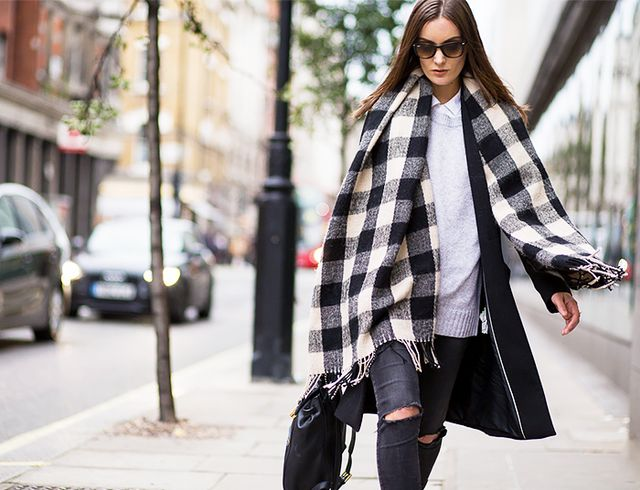 #1: Wrap Up in a Blanket Scarf