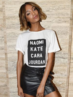 Back in Stock: The Chic $25 T-Shirt Loved by Naomi, Jourdan, and Cara
