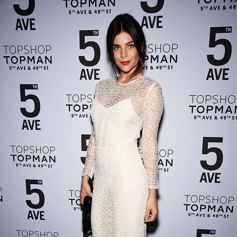 Julia Restoin Roitfeld White Lace Dress