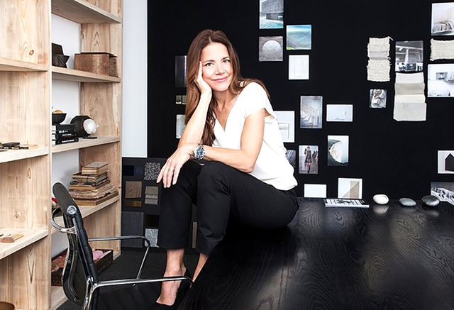 Tour the Chic Offices of Calvin Klein Home
