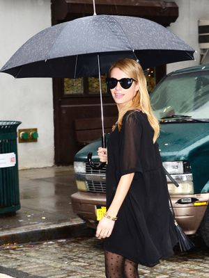 Expecting Bad Weather? Follow Emma Roberts' Stylish Lead