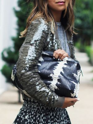 How to Pull off Sequins Without Looking Tacky
