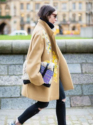 Tip of the Day: Try an Embellished Coat