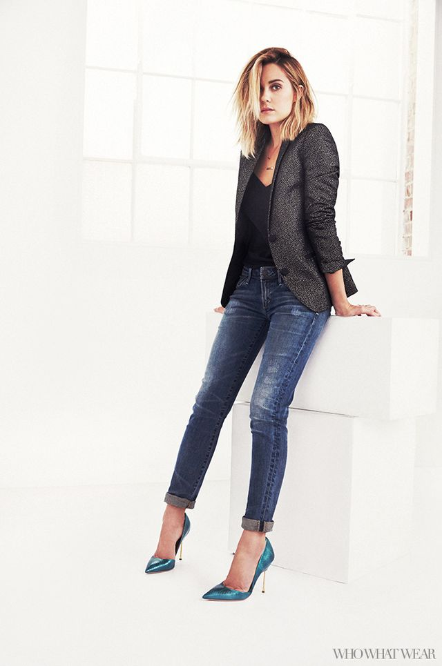 Tailored Jacket + Skinny Jeans 