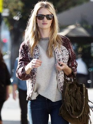 Casual Sunday Dressing the Rosie Huntington-Whiteley Way