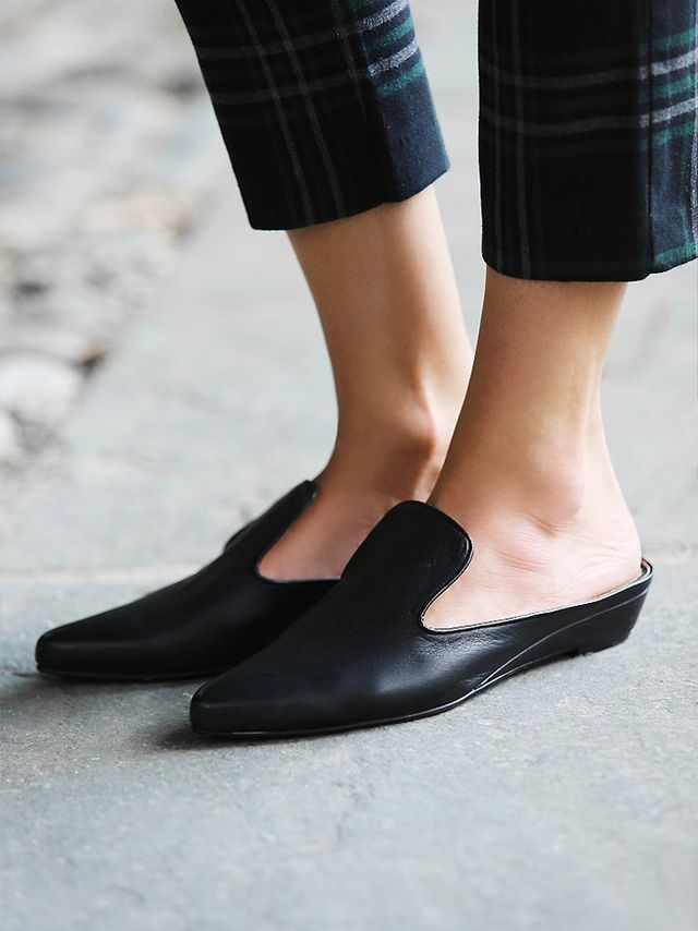 #TuesdayShoesday: Shop the Coolest Flat Mules | WhoWhatWear