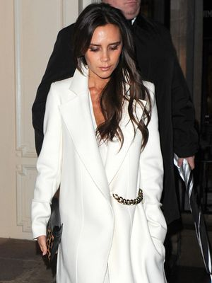 Winter White Done Right, with Victoria Beckham