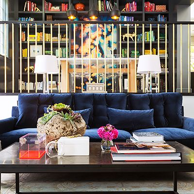 Home Tour: A Colorful Modern House in NorCal