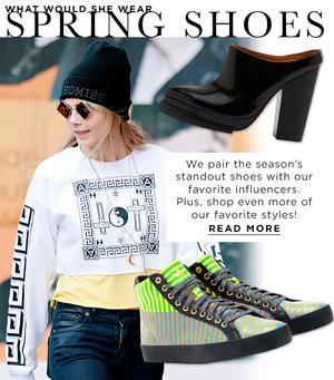 Spring's Most Covetable Footwear