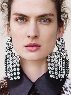 Would You Wear It? Céline's Shoulder-Grazing Earrings
