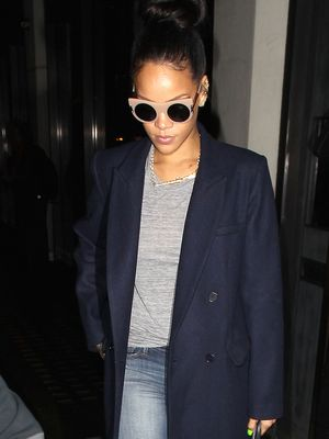 Let Rihanna's Killer London Style Inspire Your Next Weekend Look
