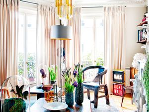 Inside a Gorgeously Collected Parisian Pad