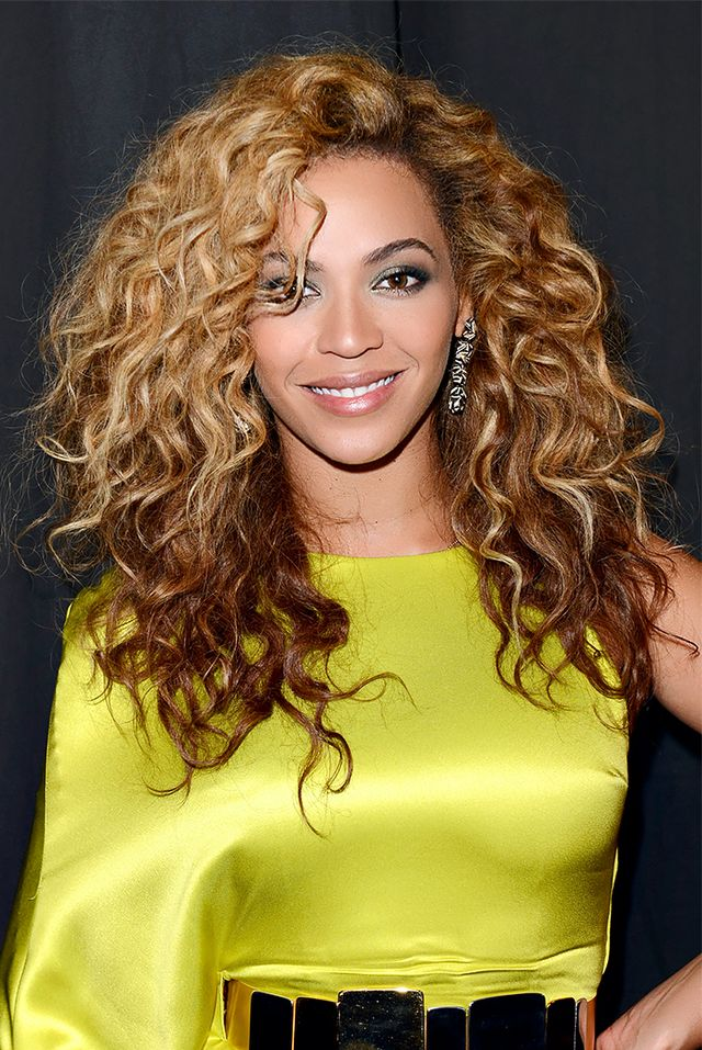 Ask for long layers that start at the chin, like Beyoncé's.
