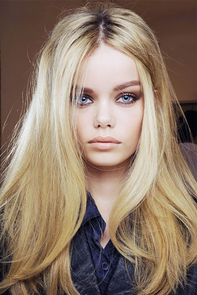 Long, barely-there layers look amazing on thick hair.