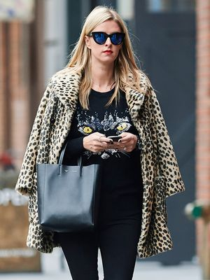 Nicky Hilton's Purr-fect Weekend Look