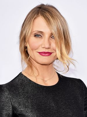 Cameron Diaz Wears the PERFECT Berry Lip—Here's the Exact Shade