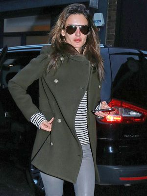 Alessandra Ambrosio's Stylish Winter Staples