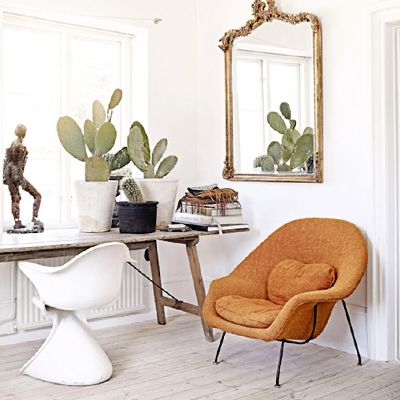 Tour a Swedish Stylist's Glamorous and Eclectic Home